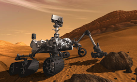 Whatever the Curiosity rover has found, it's not evidence of life on Mars