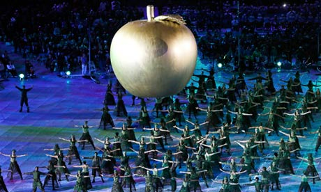 Why Newton's apple was a perfect symbol to open the Paralympics