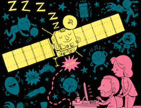 New Scientist: Wake up and smell the comet: Rousing the Rosetta probe